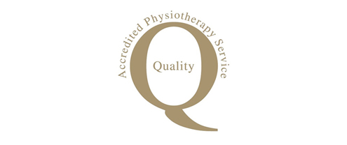 Accredited Physiotherapy Service Quality Logo
